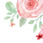 watercolor floral background